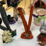 Páscoa com guardanapo de coelhinho