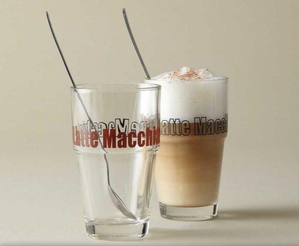 Jogo Copo Latte Macchiato 4pçs